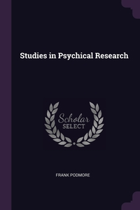 Studies in Psychical Research, Frank Podmore обложка-превью