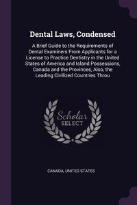 Книга под заказ: «Dental Laws, Condensed»