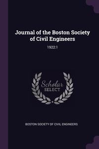 Книга под заказ: «Journal of the Boston Society of Civil Engineers»