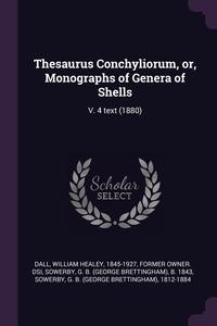 Книга под заказ: «Thesaurus Conchyliorum, or, Monographs of Genera of Shells»