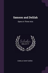 Книга под заказ: «Samson and Delilah»
