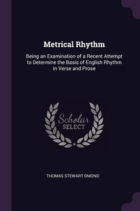 Книга под заказ: «Metrical Rhythm»