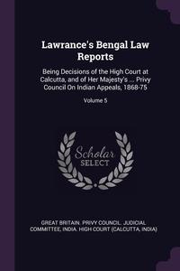 Книга под заказ: «Lawrance's Bengal Law Reports»