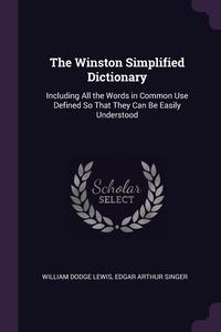 Книга под заказ: «The Winston Simplified Dictionary»