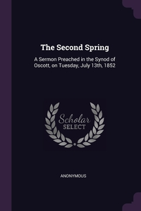 Книга под заказ: «The Second Spring»