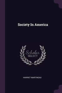 Society In America, Harriet Martineau обложка-превью