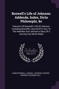 Книга под заказ: «Boswell's Life of Johnson»