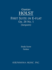 First Suite in E-flat, Op.28 No.1: Study score, Gustav Holst, Richard W. Sargeant обложка-превью