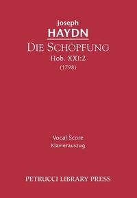 Die Schöpfung, Hob.XXI.2: Vocal score, Joseph Haydn, Gottfied van Swieten, Paul Klengel обложка-превью
