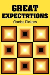 Great Expectations, Чарльз Диккенс обложка-превью