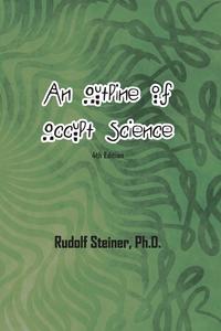 An Outline of Occult Science, Rudolf Steiner обложка-превью