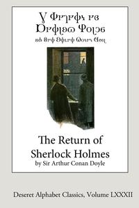 The Return of Sherlock Holmes (Deseret Alphabet edition), Doyle Arthur Conan обложка-превью
