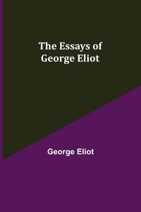 The Essays of George Eliot, George Eliot обложка-превью
