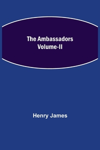 The Ambassadors Volume-II, Henry James обложка-превью
