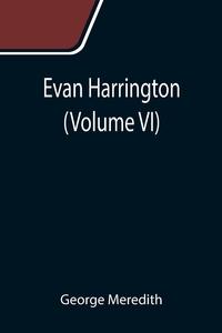 Evan Harrington (Volume VI), George Meredith обложка-превью