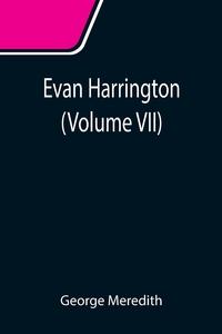 Evan Harrington (Volume VII), George Meredith обложка-превью