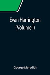 Evan Harrington (Volume I), George Meredith обложка-превью
