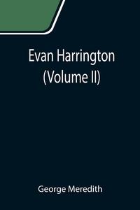 Evan Harrington (Volume II), George Meredith обложка-превью