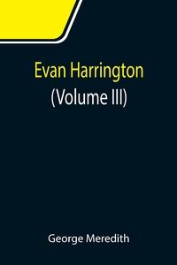 Evan Harrington (Volume III), George Meredith обложка-превью