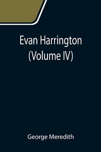 Evan Harrington (Volume IV), George Meredith обложка-превью