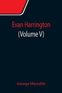 Evan Harrington (Volume V), George Meredith обложка-превью